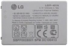 LG LGIP-401N Battery For Prestige AN510 Rumor Touch LN510 E720 1250mAh OEM