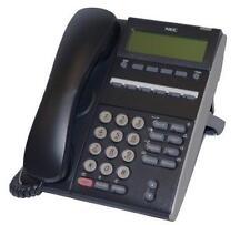 Fully Refurbished NEC DT310 DTL-6DE-1 6-Button Display Digital Phone (Black)