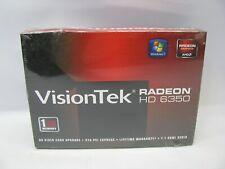 VisionTek Radeon HD 6350 1GB PCI Card *New Sealed*
