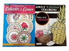 Hand Drawn Etchings  Collector's Curio Cabinet Book Adult Coloring Books 2 Pack