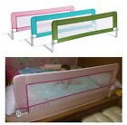 Swing Down Bedrail Bed Rail Toddler Kids Child Safety Folding Net Guard