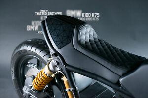 BMW K100 K1100 K75 custom, Cafe Racer rear fairing with leather seat