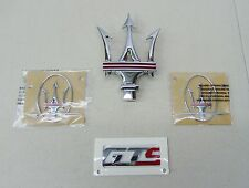 "MASERATI ORIGINAL FACTORY EQUIPMENT GHIBLI ""GTS"" EMBLEM  KIT"