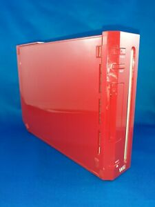 RED Wii Console Only RVL-001 TESTED 2006 Excellent Working Condition