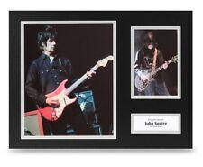 John Squire Signed 16x12 Photo Display The Stone Roses Autograph Memorabilia COA