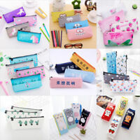 Hot! Pencil Case Pen Pouch Box Bag Cases School Office Supplies Stationery Gifts