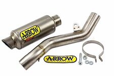 Kawasaki ZX6R Full Titanium Exhaust Silencer Arrow GP2 71005GP ZX-6R 2009-2015