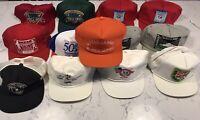 Little League World Series Hat Lot Vintage New Era Snapback LLWS Pin USA 1980s