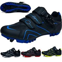 Mountain Cycling Shoes Men Mtb Bike Sneakers SPD Bicycle Athletic Racing Shoes