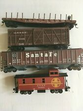 Athearn Atlas Roundhouse Job Lot of 4 Mixed Wagons HO Scale T48 Post job 9