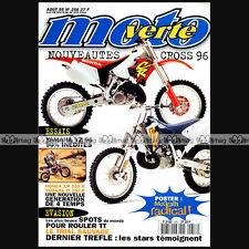 MOTO VERTE N°256-b STEFAN EVERTS MARC FONTAN YAMAHA TT 250 HONDA XR TORTELLI 95