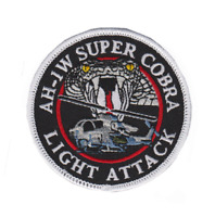 USMC AH-1W Super Cobra Patch Sticker NEW!!!