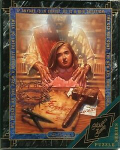 "The Master's Family 500 piece puzzle Ron DiCianni ""Forgiven"" Religious Jesus"