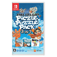 Piczle Puzzle Pack 3-in-1 Nintendo Switch 2019 Japanese English Chinese Sealed