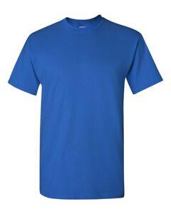 Gildan Mens Plain Ultra Cotton T Shirts Short Sleeve Blank Tee Top S-3XL G200