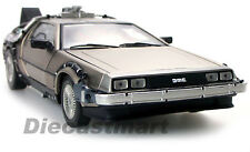 1:18 BACK TO THE FUTURE DELOREAN TIME MACHINE PART 1 DIECAST by SUNSTAR 2711