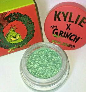 KYLIE JENNER Cosmetics SHIMMER EYE GLAZE Lil Grinch Collection EYE SHADOW Green