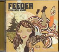 Feeder - Pushing The Senses (2005 CD) Japan Import- 2 bonus tracks (New)