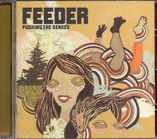 Feeder - Pushing The Senses (2005 CD) Japan Import- 2 bonus tracks (New)