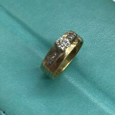 1/3 carat Diamond Ring 14k Gold Size 6 1/2