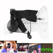 Parabolic Microphone Monocular Bionic Ear Long Range Birds Listening To 300 FT