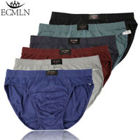 Mens High Quality Cotton Brief Boxer Bulge Soft Comfortable Underwear Underpants