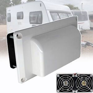For Caravan Motorhome RV Side Air Vent Exhaust Fan Blower Cooling Ventilation