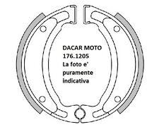 176.1205 GRILLETES FRENO D.110X25 MUELLES POLINI MBK X-LIMIT 50 Minarelli AM6