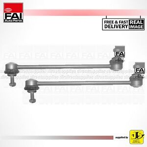 2X FAI LINK ROD FRONT SS6024 FITS VW POLO 1.2 1.4 1.6 1.9 6Q0411315G