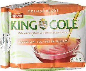King Cole Loose Leaf Orange Pekoe Tea 1lb Bag Canada Barbours New Brunswick 454g