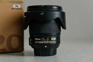 Nikon NIKKOR 20mm f/1.8 ED AF-S Lens
