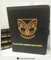 NRL CLUB Collectors Trading Card 3-Ring Album (10 pages)-NEW ZEALAND WARRIORS