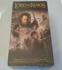 Lord Of The Rings The Return Of The King 2 Tape Set VHS Hi Fi NEW Factory Sealed