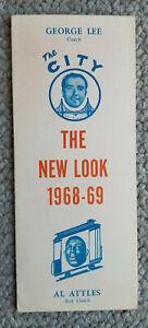 1968-69.San Francisco Warriors Ticket Appication Brochure. Al Attles Asst. Coach