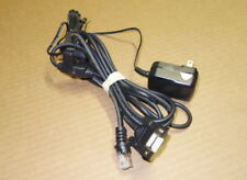 Genuine Metrologic Serial RS232 Cable  +AC Adapter MS7120 MS3780 MS9520 MS9540