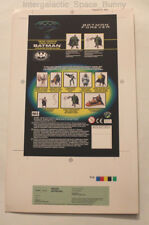 1996 Kenner Batman Forever Neon Shield Proof Card Prototype Pre-Production