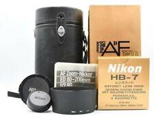 [ Casi Mint + en Caja ] Nikon Af Nikkor 80-200mm F/2.8 Ed D Nuevo Tipo Con /