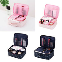 Women Large Makeup Bag Cosmetic Case Storage Handle Organizer Travel Kit Beauty