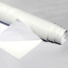 "3D Carbon Fiber Vinyl Car Wrap Sheet Roll Film Sticker Decal 127x30cm 12""x50"""