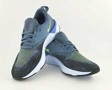 Nike Odyssey React 2 Flyknit Men's - Armory Blue/Lime Blast/Black AH1015 401