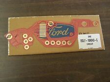 NOS OEM Ford 1980 - 1983 Lincoln Mark VI 6 Printed Circuit 1981 1982 Electronic