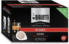 50 Cialde Bialetti Compatibili Ese 44mm Roma Compostabile
