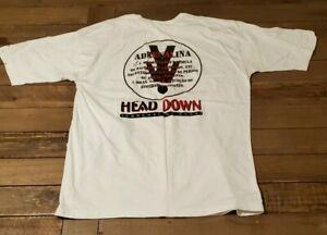 Head down FreeFly Adrenaline Wear T-Shirt XL (GG) White  Free Shipping