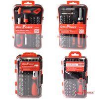 Multi-Bit Ratchet Socket Nuts Screwdriver Mechanic Tool Precision Repair Kit Set