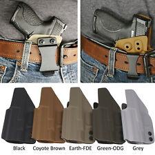 Tuckable IWB KYDEX Gun Holster Fits GLOCK® 17,19,22,23,26,27,29,30,31,33,42,48