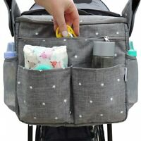 Baby Universal Stroller Organizer Large Capacity Mummy Diaper Bags Holder Travel