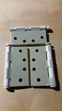 """(6) Hager Prime Coated Heavy Duty Architectural Door Hinges 4""""x4""""-USA"""
