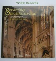 A 66012 - SERVICE HIGH & ANTHEMS CLEAR - Ely Cathedral Choir - Ex Con LP Record
