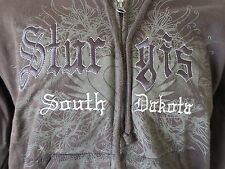 Sturgis South Dakota Hoodie Hoody Black Hills Rally Eagle Harley Size Small