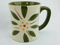 TEMP-TATIONS by Tara OLD WORLD VIVID Coffee Tea MUG CUP 16 oz. Green
